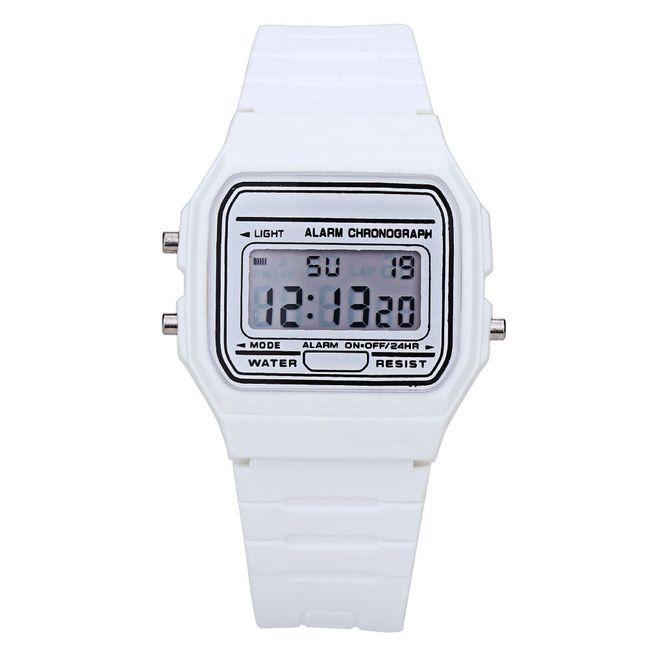 Digitální hodinky - gumové 1