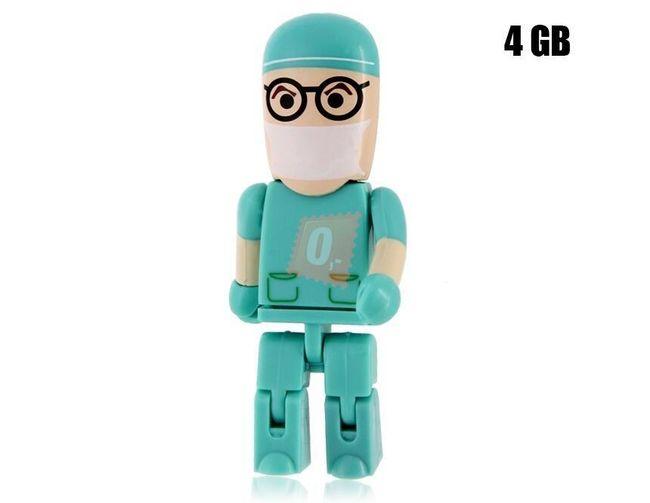 4GB Flashdisk - doktor 1