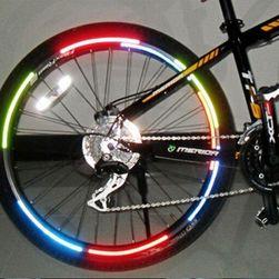 Autocolante reflectorizante pentru janta de la bicicletă - diverse culori