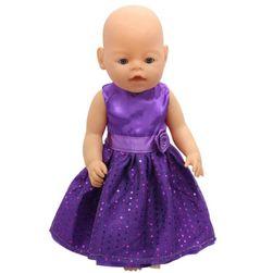 Šaty s mašlí pro větší panenku