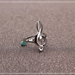 Prsten sa motivom violinskog ključa