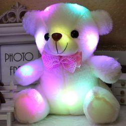 Świecący pluszowy miś dla dzieci - 5 kolorów
