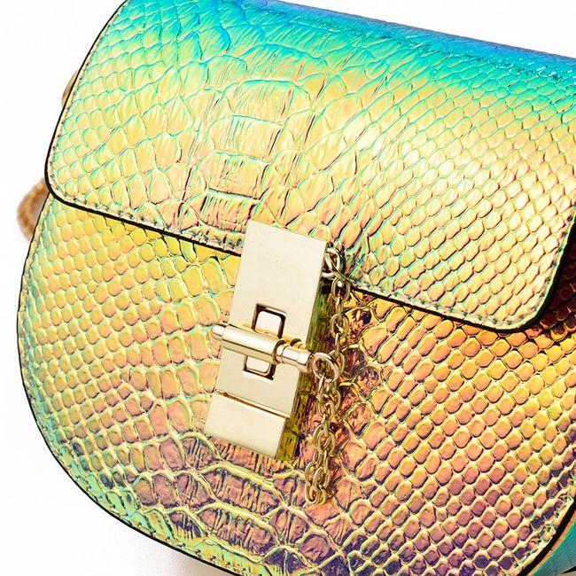 Duhová kabelka z umělé kůže 1