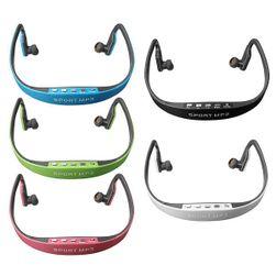 Спортни безжични слушалки с MP3 плейър - 5 цвята