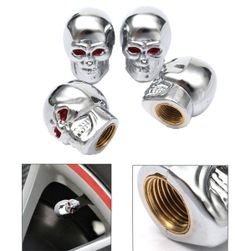 4 черепи - капачки за вентили