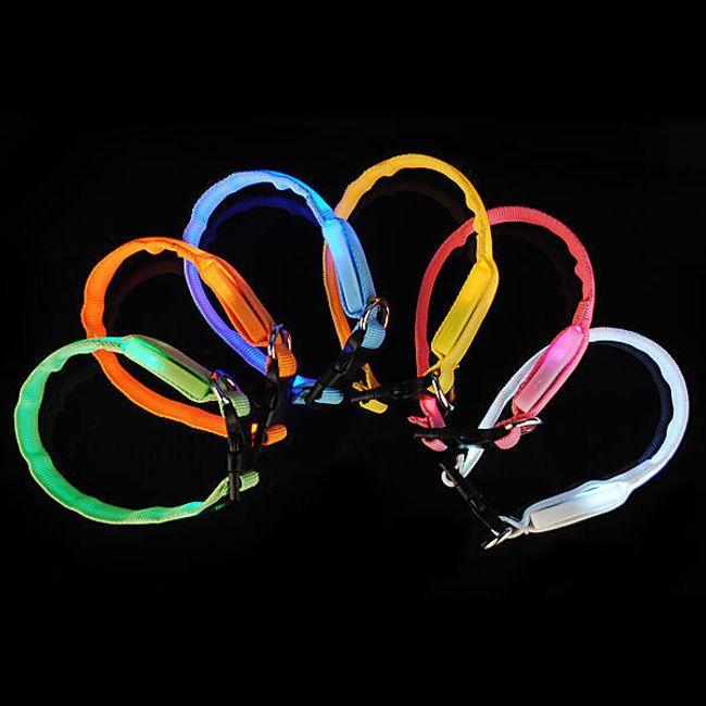 6 színű LED gallér 1