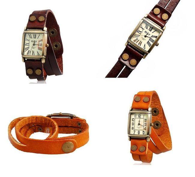 Dámské náramkové hodinky v retro designu - 2 barvy 1