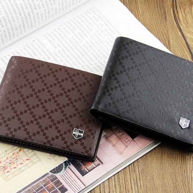 Pánská peněženka s texturou - 2 barvy 1