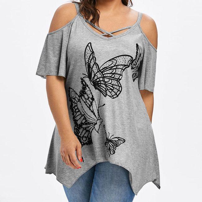 Дамска тениска с къси ръкави Aimee 1