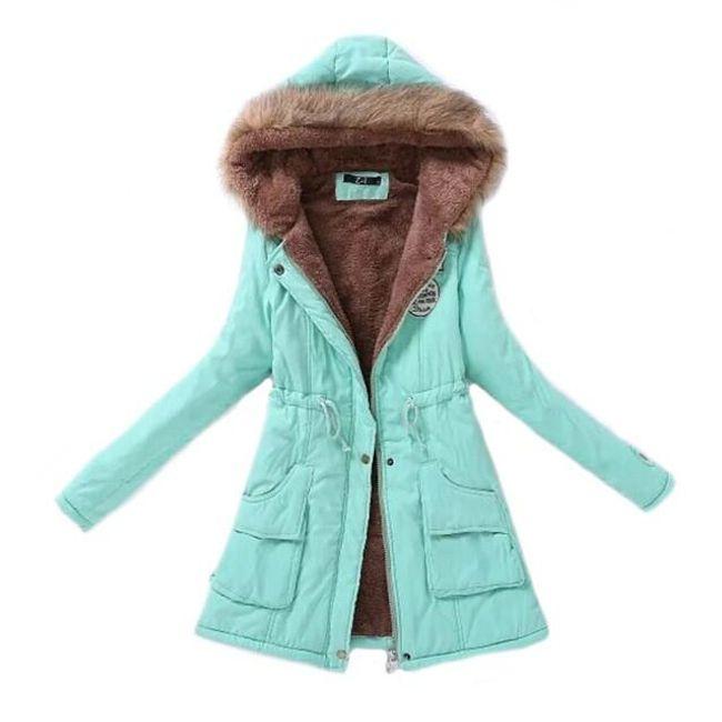Podzimní bunda s kožíškem - 14 barev 1