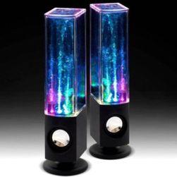 LED tančící vodní reproduktory - 3 varianty