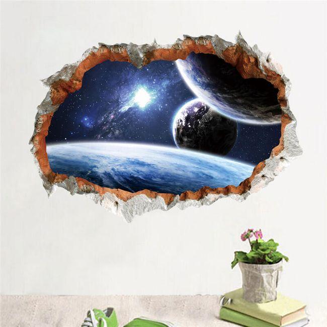3D zidni svemir 1
