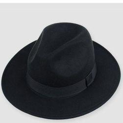 Eleganten klobuk  Črna