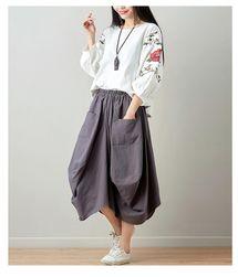 Dámská stylová sukně - 6 barev