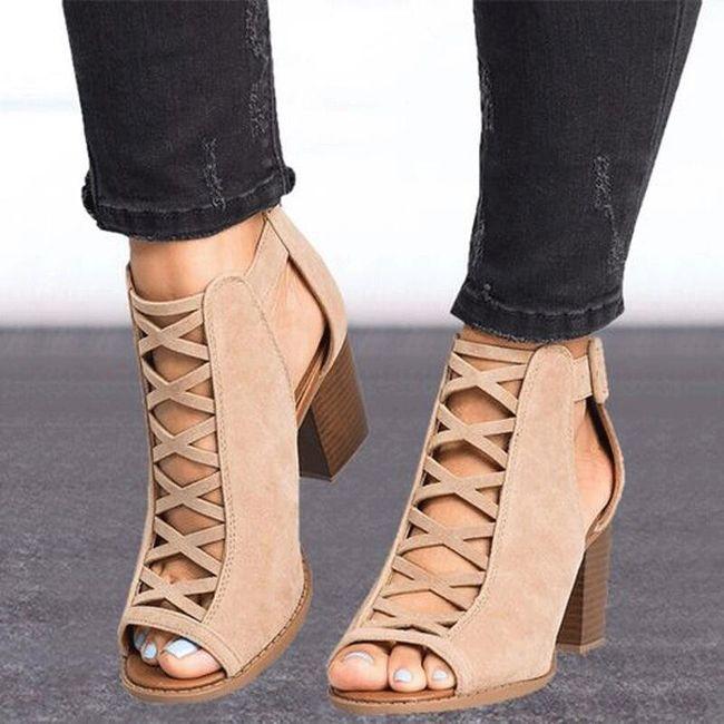 Женская обувь на высоком каблуке Denisa 1