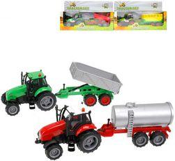 Traktor kov set s vlečkou na batérie Svetlo Zvuk rôzne druhy SR_DS25848609