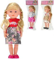 Panenka Jelena s copánky 36cm kloubová různé druhy v sáčku