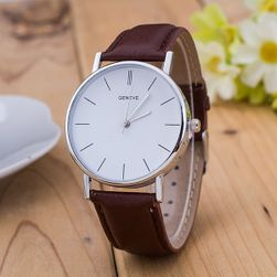 Zegarek uniseksowy z prostą tarczą