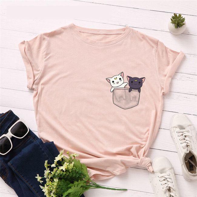 Dámské tričko s krátkým rukávem Denise 1