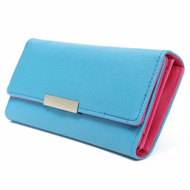 Női pénztárca sok zsebbel - 6 szín