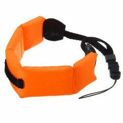 Plovoucí pásek na ruku určený pro podvodní kamery
