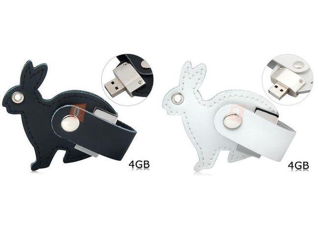 4GB Flashdisk - králíček, na výběr ze dvou barev 1