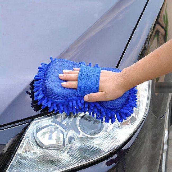 Houba na ruku na mytí auta 1