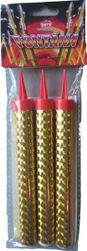 Fontána párty zlatá 40 sek 12 cm 3 ks RZ_318773