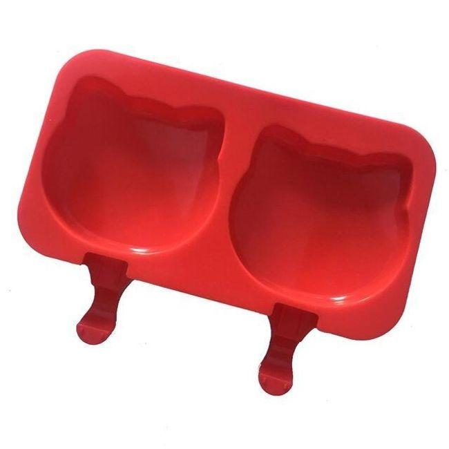 Forma na led - červená 1