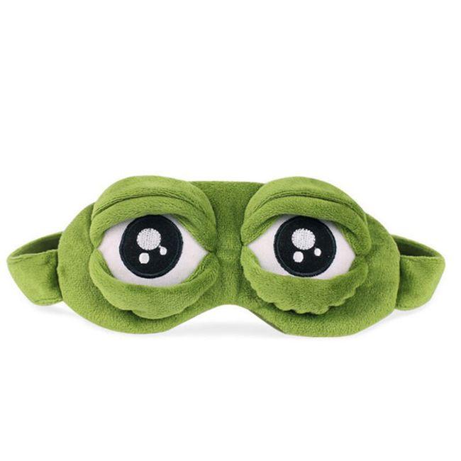 Legrační maska na spaní s motivem žabáka 1
