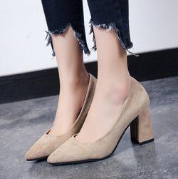 Dámské boty na podpatku Raneda
