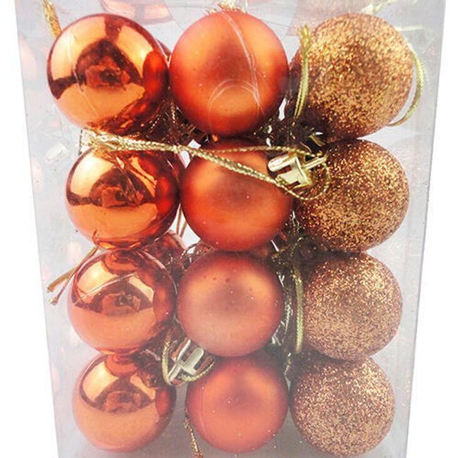 Vánoční koule - Bronzová 1