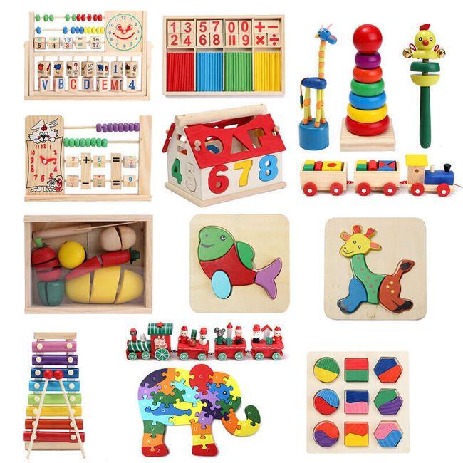 Oktatási gyerekjátékok - különböző variációk 1