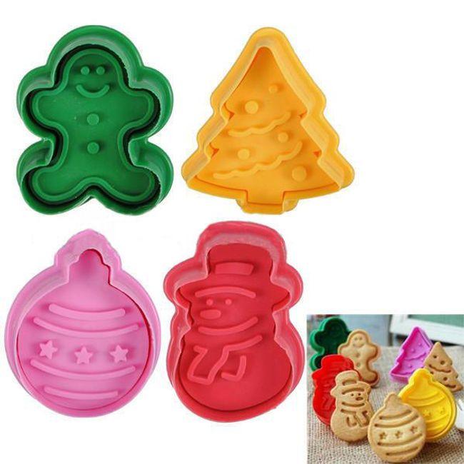 4 műanyag mézeskalács forma 1