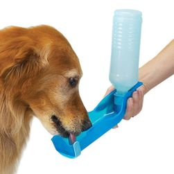 Podróżna butelka na wodę dla psa - 3 kolory