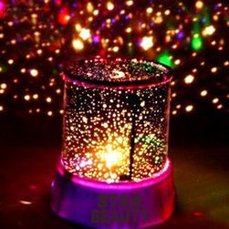 LED лампичка с прожекция на звездно небе CJNK4