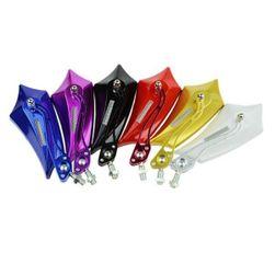 Atypická zpětná zrcátka na motorku - 6 barev