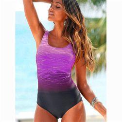 Jednodelni kupaći kostim sa ombre efektom - 3 boje