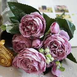 Umělé květiny Pivonia