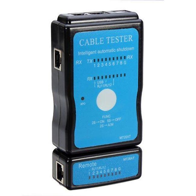 Preizkuševalec omrežja in USB kabla 1