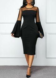 Ženska haljina sa dugačkim rukavima Utina
