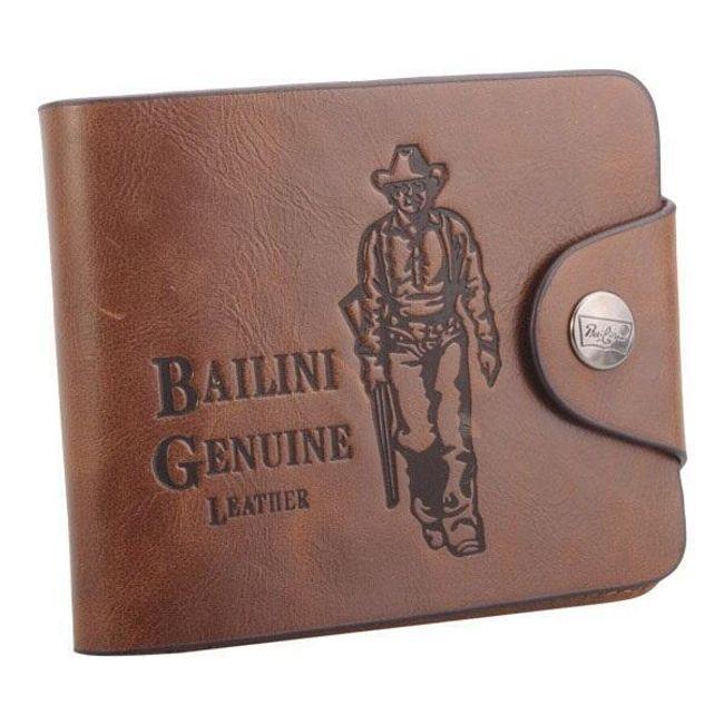 Pánská kožená peněženka Bailini 1