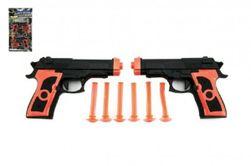 Pistole 2ks na přísavky plast 15cm na kartě RM_00312827