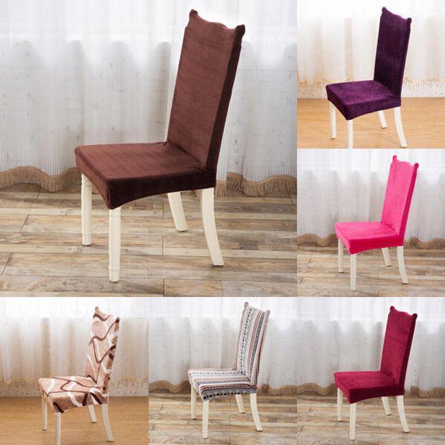 Sandalye peluş kılıfı 1