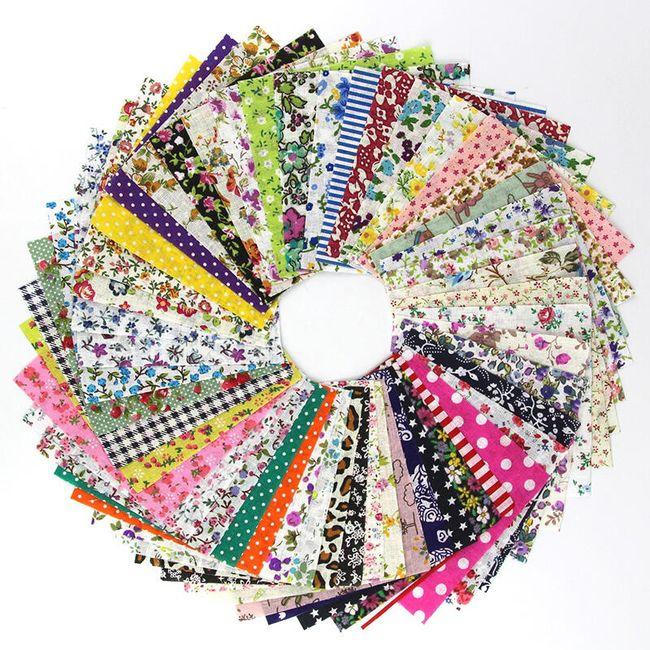 Materijal za patchwork 50 komada 1