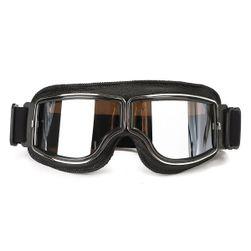 Vintage motoros szemüveg - több szín