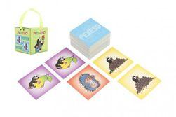 Gra planszowa Pexeso Krtek 32 pary obrazków w kartonowym pudełku 6x6cm RM_10707486