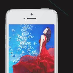 Přední a zadní tvrzené sklo pro iPhone 5s/ 5c/ 5
