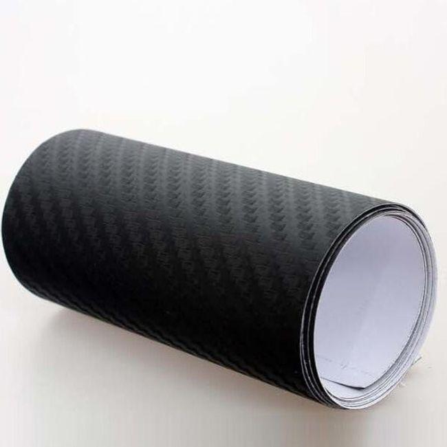 Декоративна лепяща лента за автомобил- имитация на карбон 1