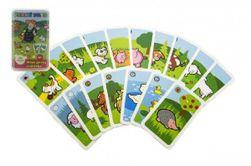 Czarny Piotruś Moja pierwsza gra planszowa ze zwierzętami - karty w plastikowym pudełku MPZ 6x9cm RM_11400107